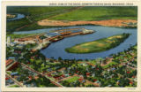 Postcard Port of Beaumont and Turning Basin