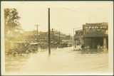 Flood at Pearl and Broadway Streets